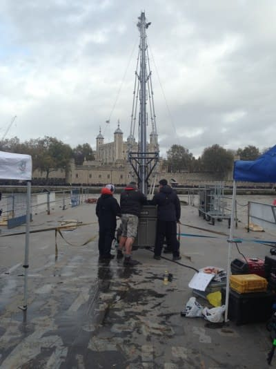 the 5th wave river thames filming