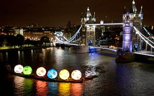 lotto balls thames tower bridge