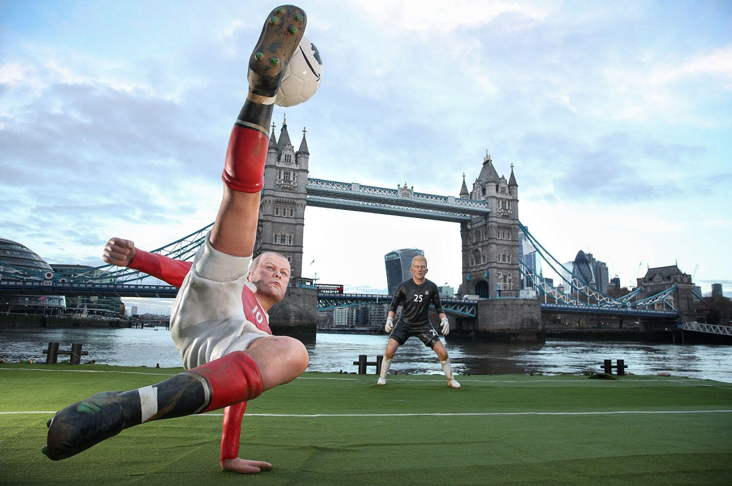 amazon prime premier league launch tower bridge wayne rooney bicycle kick