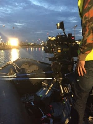 lucky man river thames filming