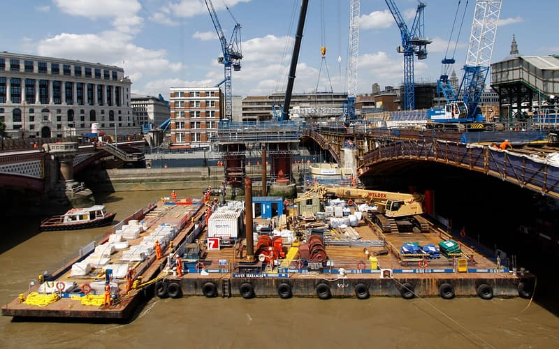blackfriars rail bridge reconstruction thames