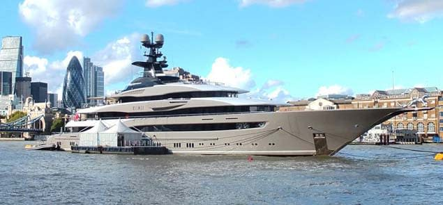 superyacht london