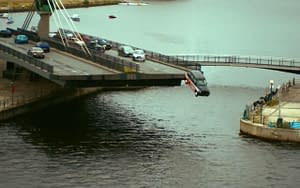 criminal thames car crash stunt