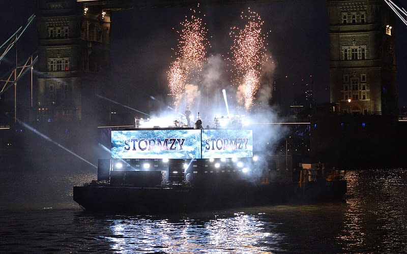 ee 5g launch stormzy thames