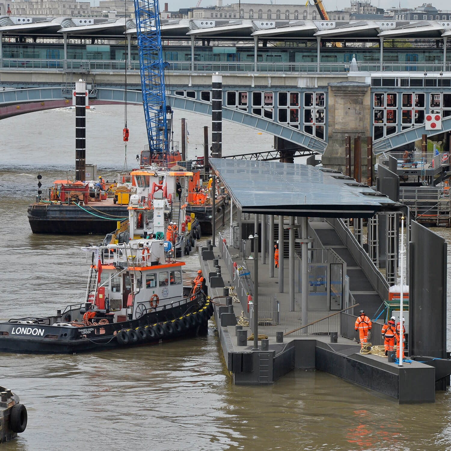 blackfriars pier relocation