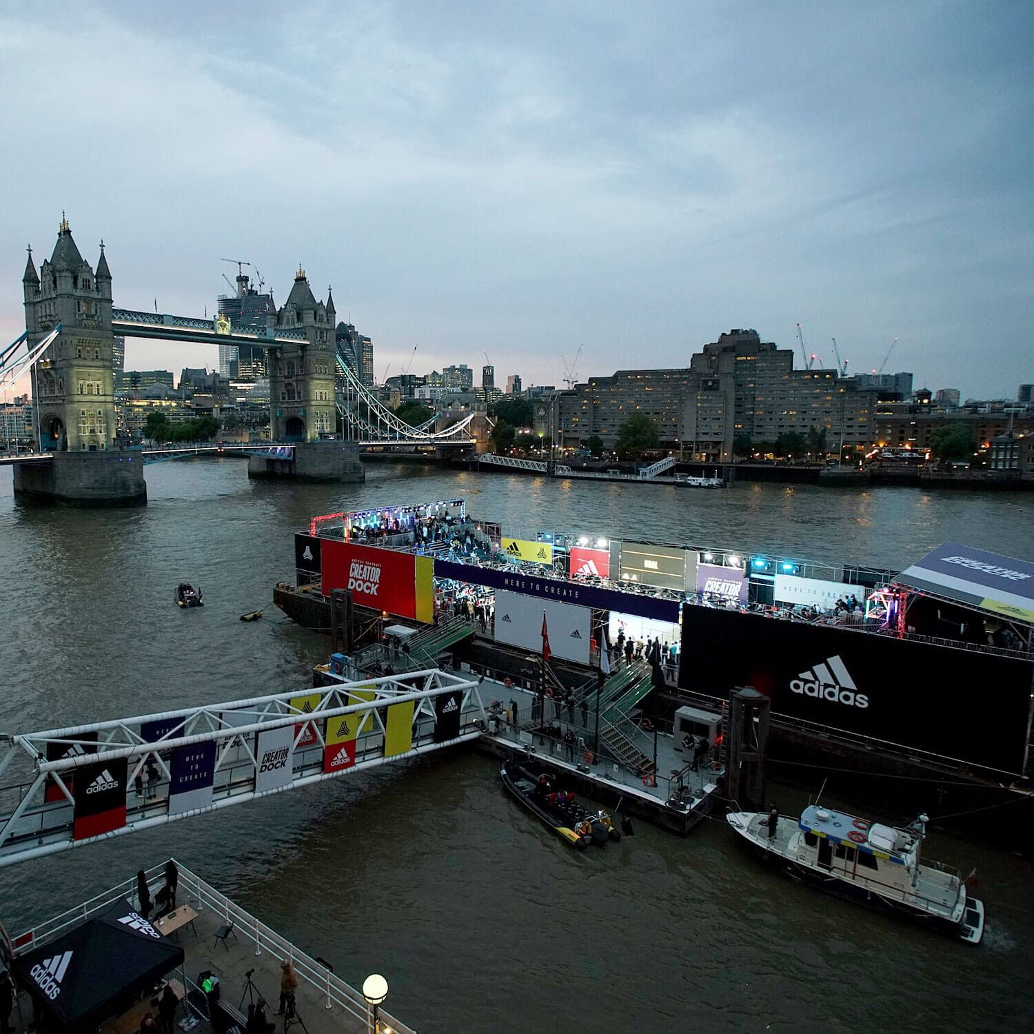 adidas football creator dock tower bridge