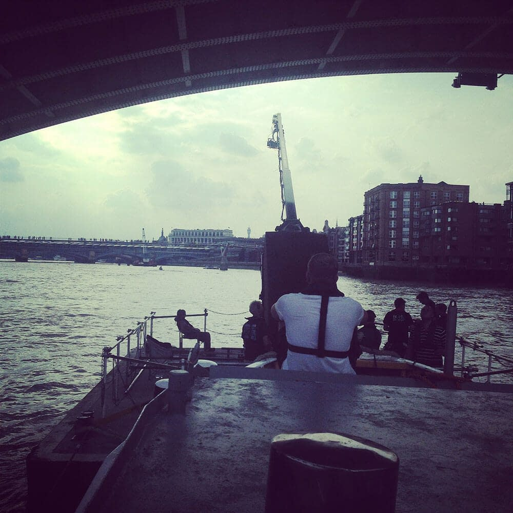 grimsby river thames filming