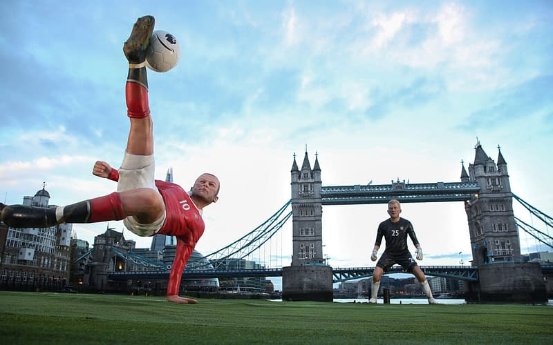 amazon prime premier league launch wayne rooney tower bridge